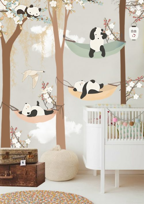 Kinderkamer behang van Little Hands