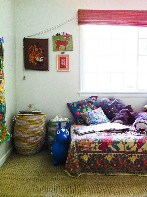 Kinderkamer met hippie stijl