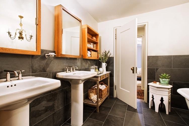 klassieke badkamers voorbeelden klassieke wastafels
