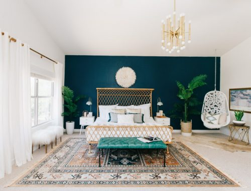 Klassieke bohemian slaapkamer van Alexandra