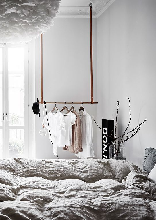 kledingroede slaapkamer