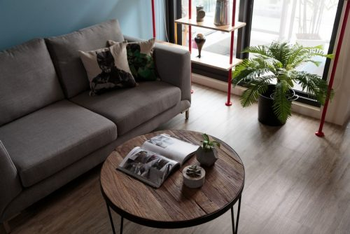 Klein en compact appartement