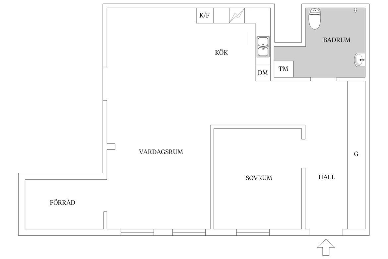 Dit kleine appartement bewijst dat betonstuc muren grote impact kunnen hebben!