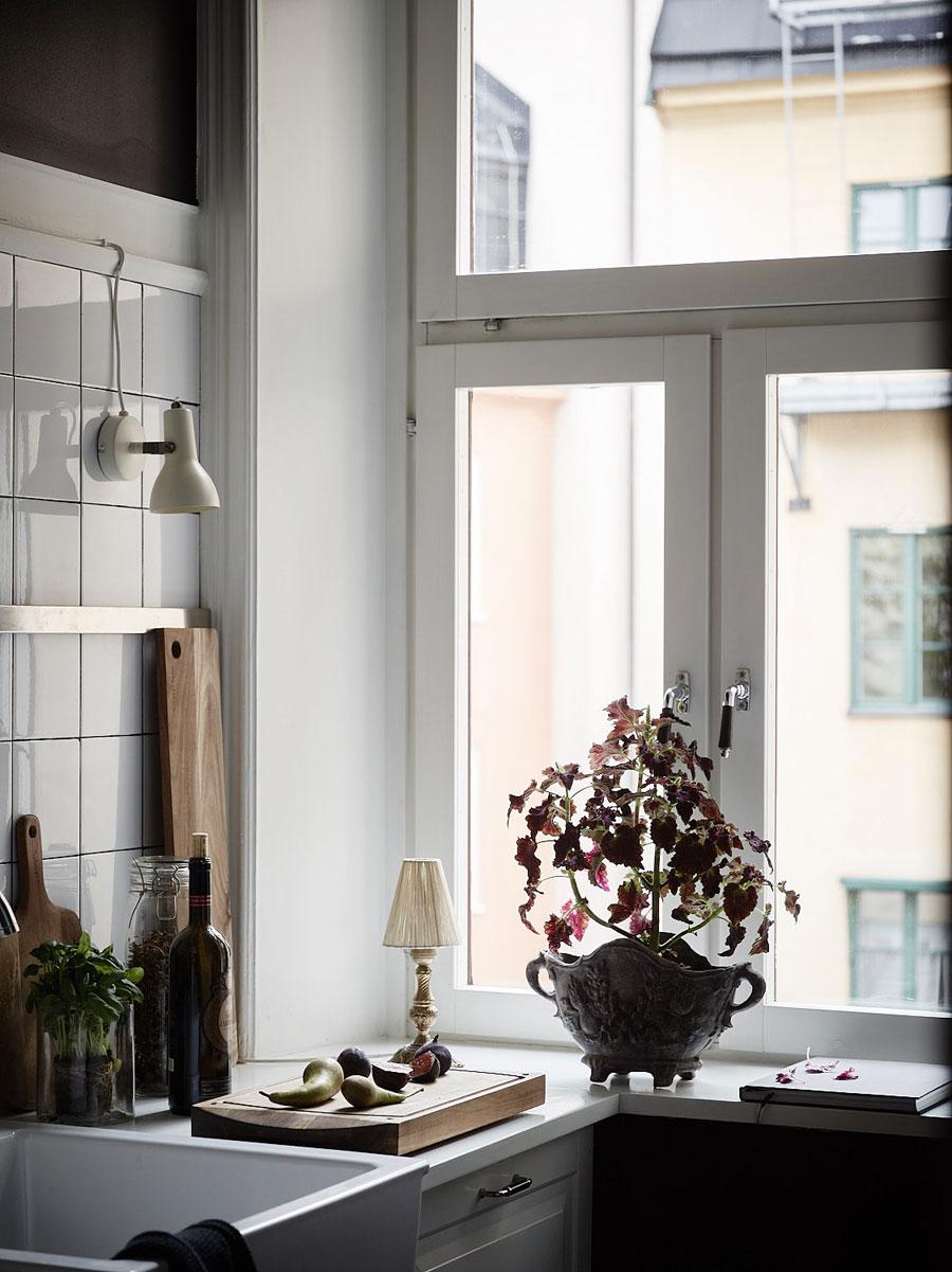 Kleine klassiek vintage appartement van 35m2