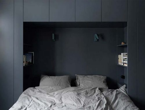 kleine slaapkamer inrichten maatwerk