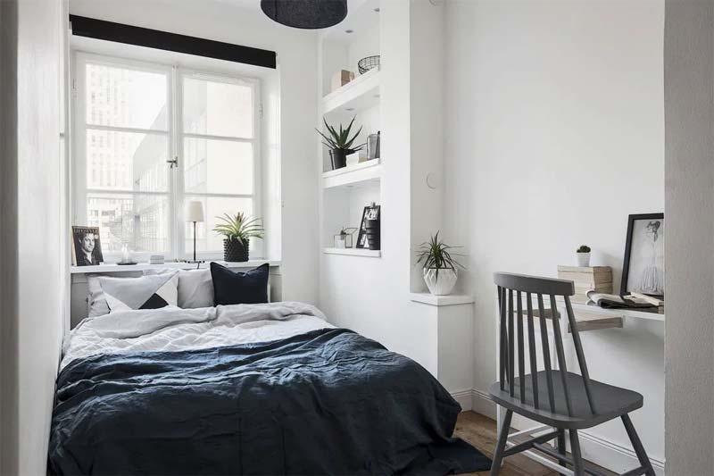 kleine slaapkamer kleuren