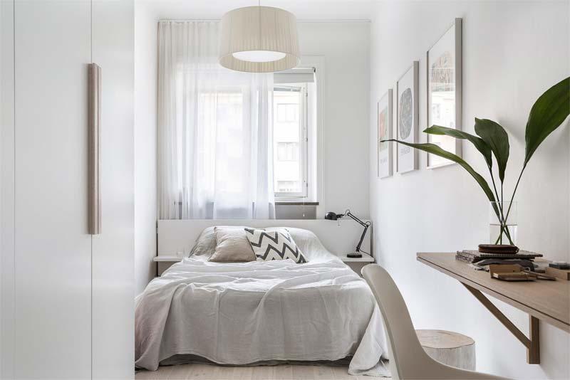 kleine slaapkamer lichtinval