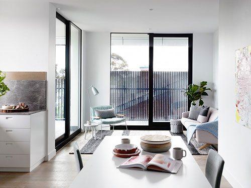 Woonkamer Keuken Kleine : Kleine woonkamer met scandinavisch design