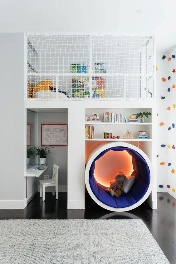 Klimmuur creëren in de kindkamer