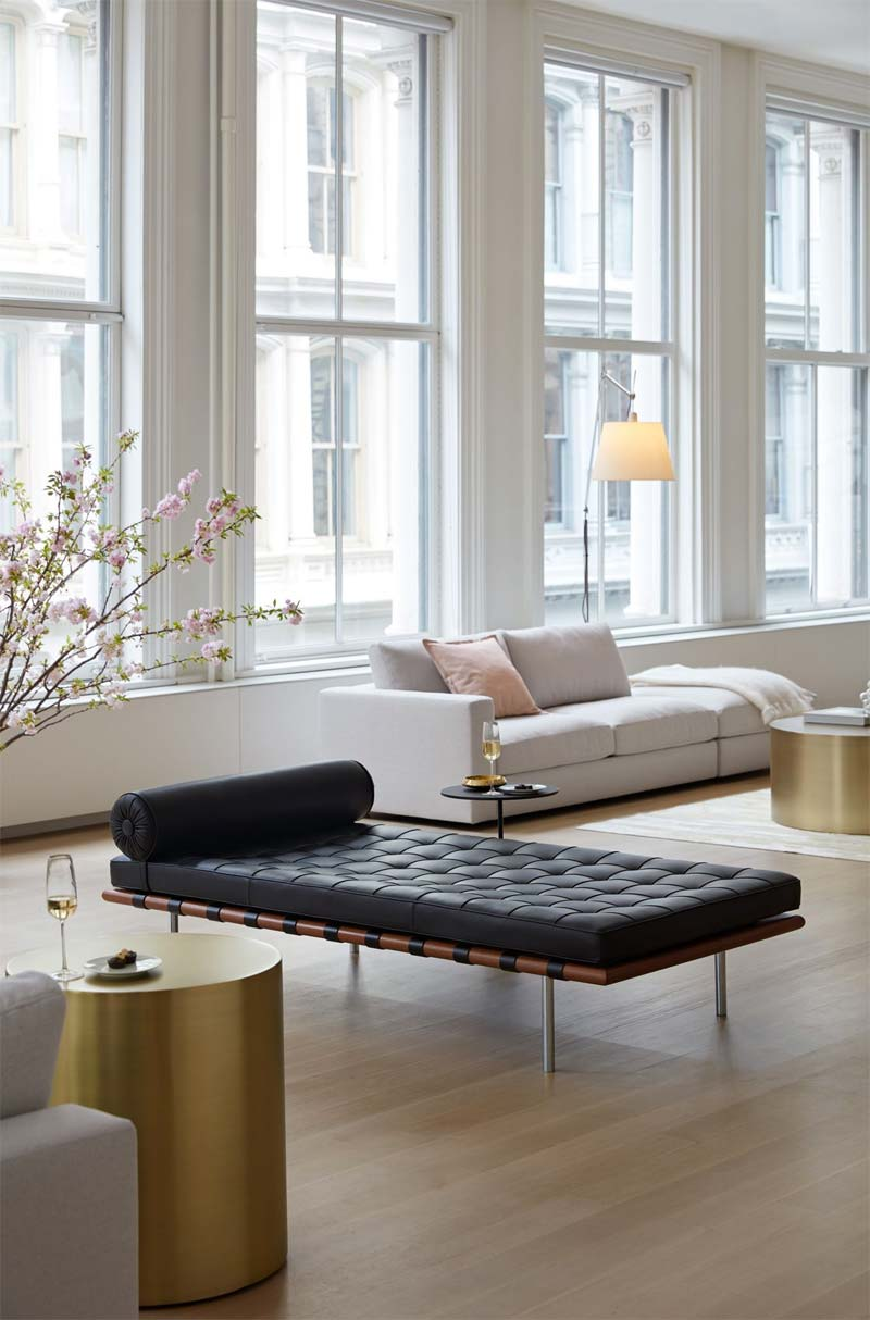 Knoll Barcelona daybed
