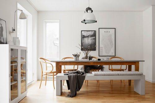 Knus herfst interieur uit Zweden
