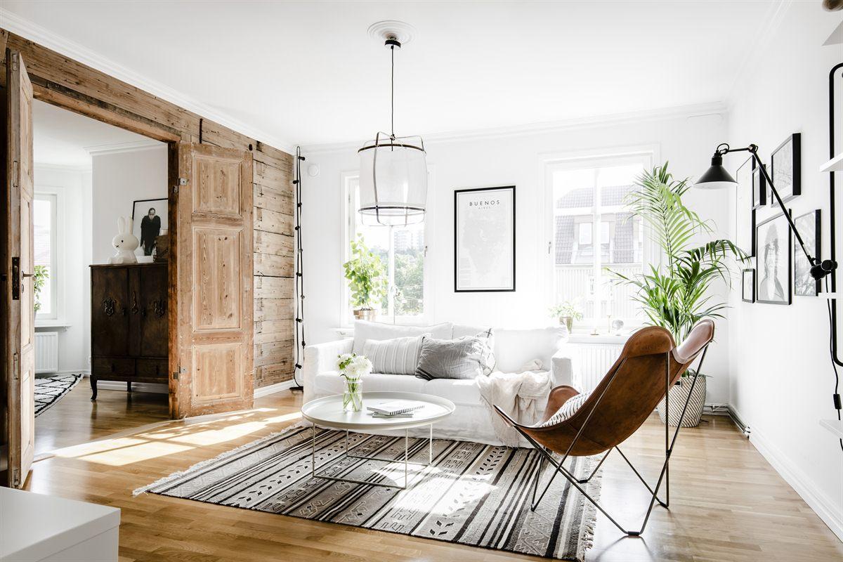 Witte Zweedse Woonkamer : Stoere zweedse woonkamer huis inrichten