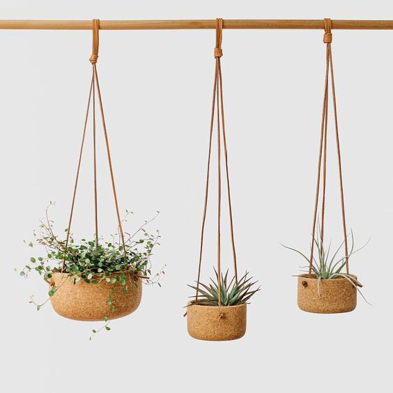 kurk plantenhangers