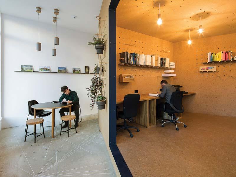 kurkvloer kantoor