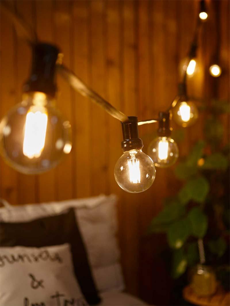 Kwantum tuinmeubelen - Lichtsnoer