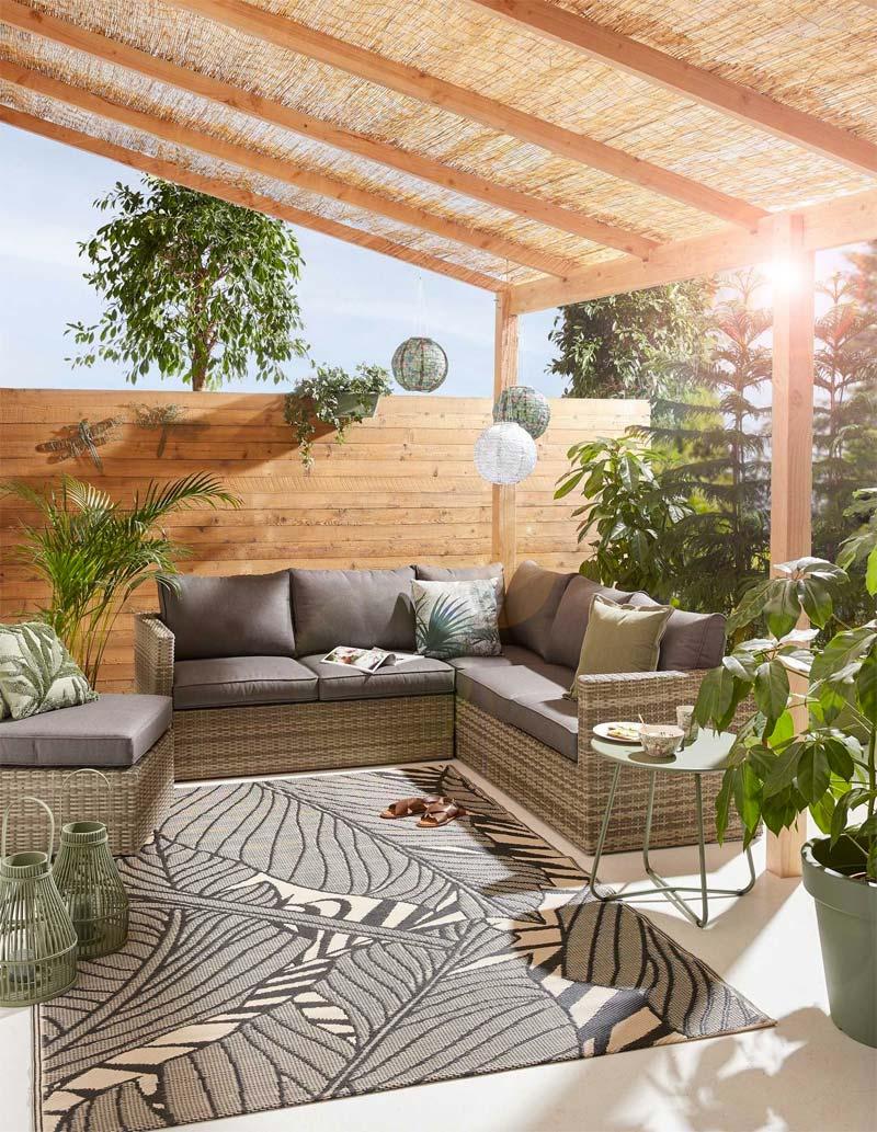 Kwantum tuinmeubelen - Loungeset Salerno