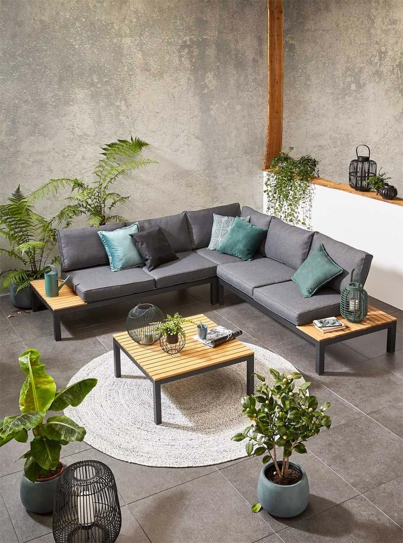 Kwantum tuinmeubelen - Loungeset Cannes