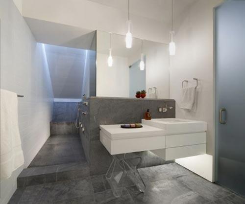 l-vormige badkamers ruime inloopdouche