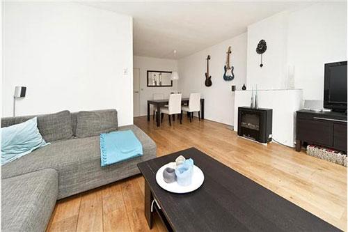Woon Kamer Inrichten : L vormige woonkamer