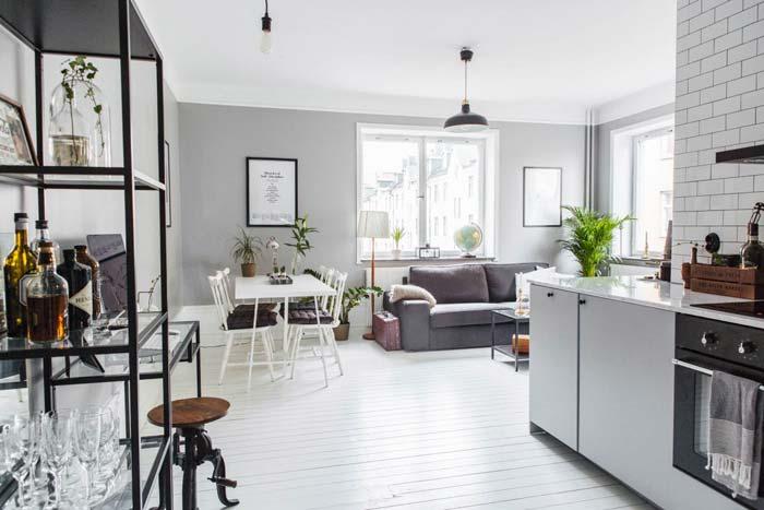 L vormige woonkamer inrichten