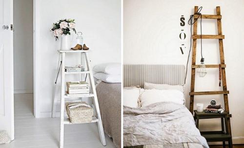 ladder nachtkastjes
