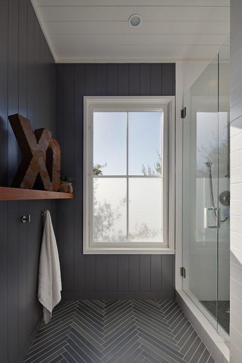 landelijke badkamers voorbeelden mix landelijk modern
