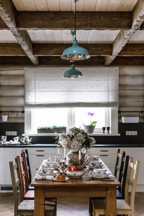 Landelijke rustieke keuken