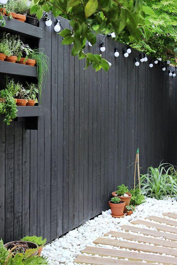 LED verlichting in de tuin