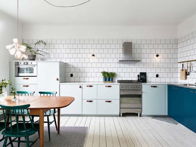 leren deurgrepen keuken