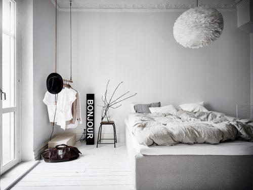 Leuke Scandinavische Slaapkamer Met Leuke Decoratie Huis Inrichten Com
