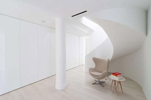 Licht en modern appartement in New York
