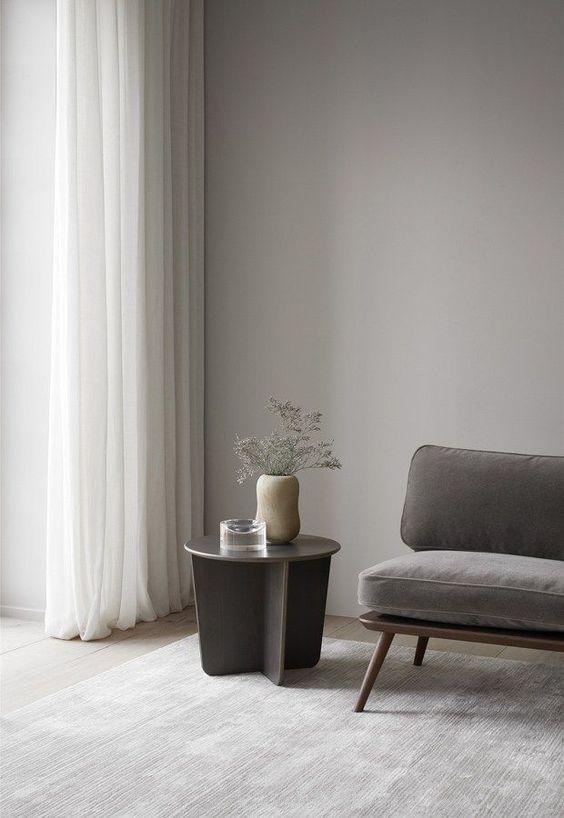 lichtgrijze tinten interieur