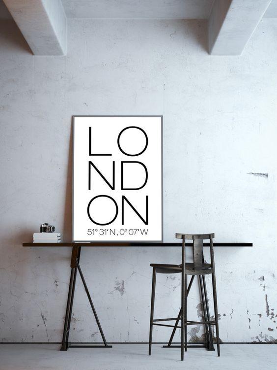 londen-poster