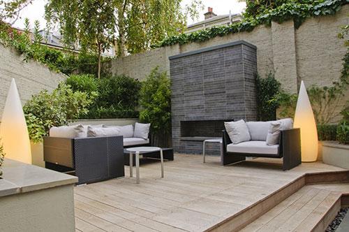Lounge tuin inspiratie