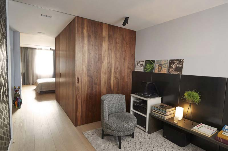 loungehoek slaapkamer suite