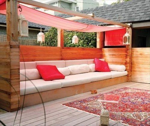 Loungemeubelen in de tuin voor een heerlijk vakantiegevoel