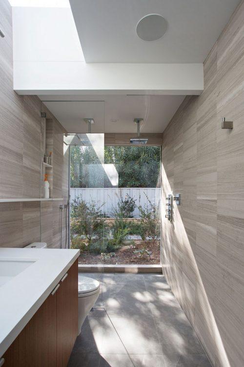 Luxe badkamers voorbeelden dubbele douchekop