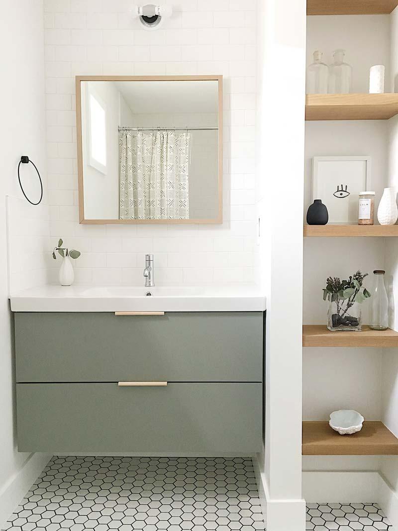 Luxe IKEA badkamer