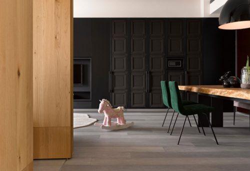Luxe inbouwkast woonkamer