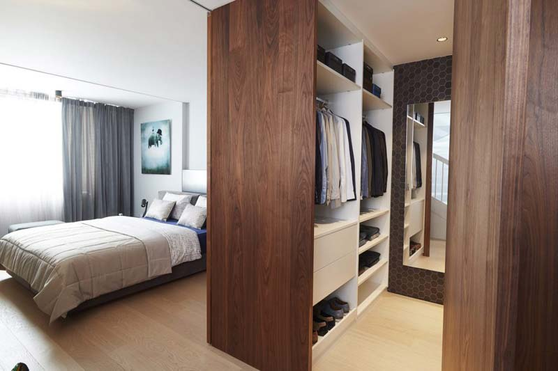 luxe inloopkast zolder slaapkamer