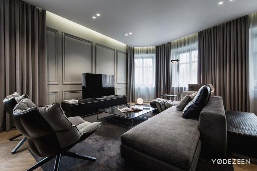 luxe interieur grijs