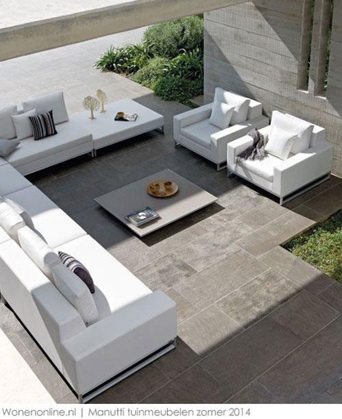 Luxe loungeset tuin