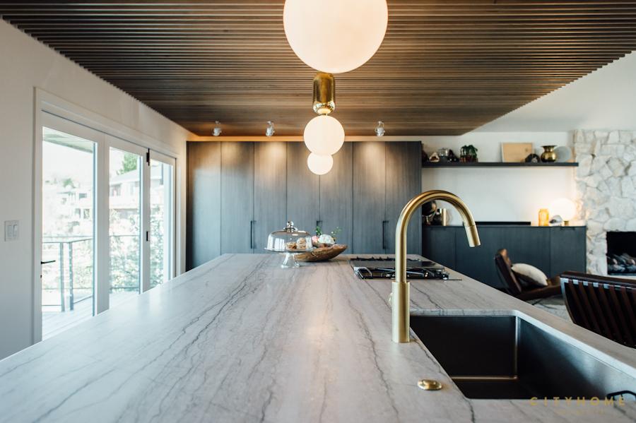 Luxe moderne vintage keuken