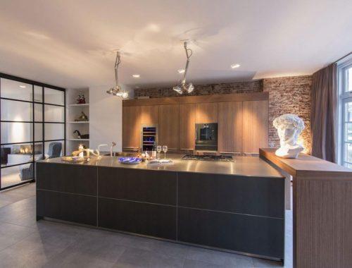 Luxe keuken met open industriële karakter