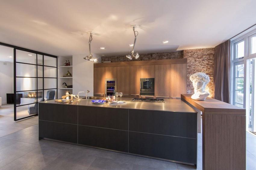 Moderne Keuken Inrichting : Luxe keuken met open industriële karakter huis inrichten.com
