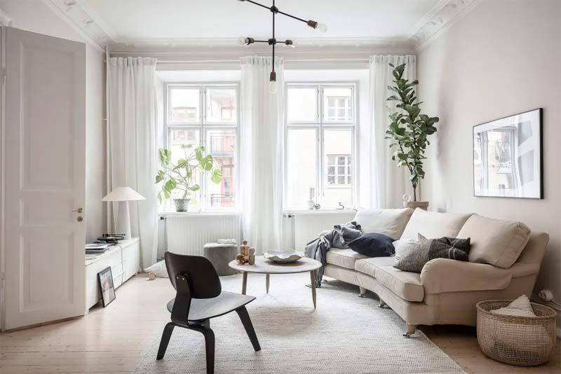 luxe woonkamer verlichting
