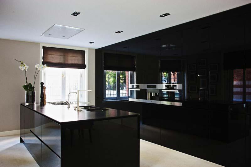 luxe zwarte keuken eric kuster