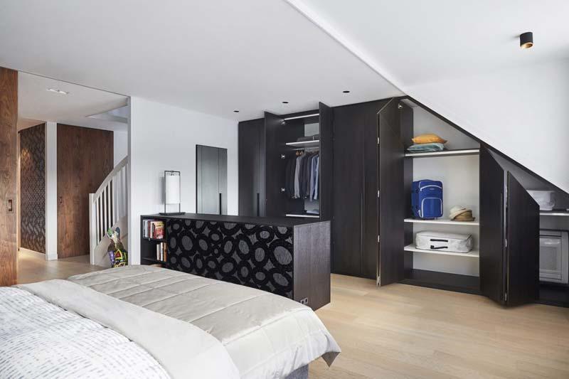 maatkast zolder slaapkamer