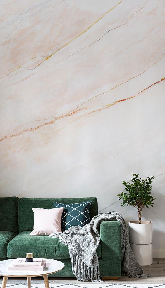 marmer behang