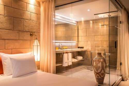 Marokkaanse Slaapkamer Van Hotel Sahrai